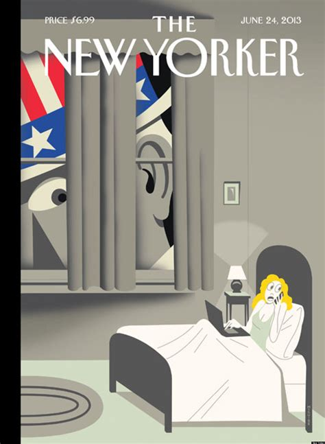 New Yorker Cover: 'Uncle Sam Is Listening' (PHOTO) | HuffPost