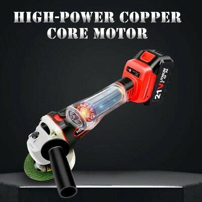 4000Mah Cordless Angle-Grinder For Rust Removal Grinding
