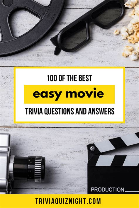 100 of the best easy movie trivia questions and answers