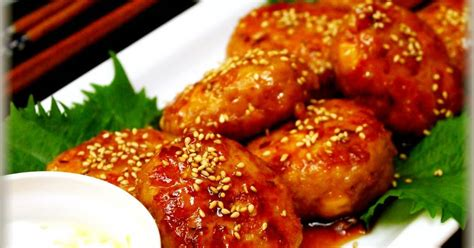 Fluffy Chicken Tsukune Patties with Tofu Recipe by cookpad
