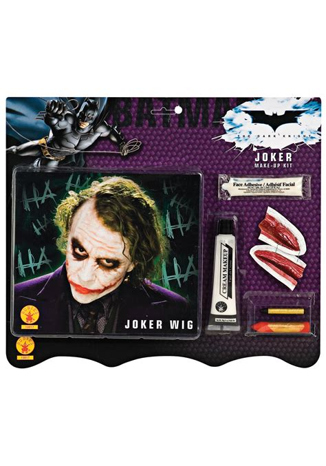 Rubies The Joker Wig and Makeup Kit Deluxe