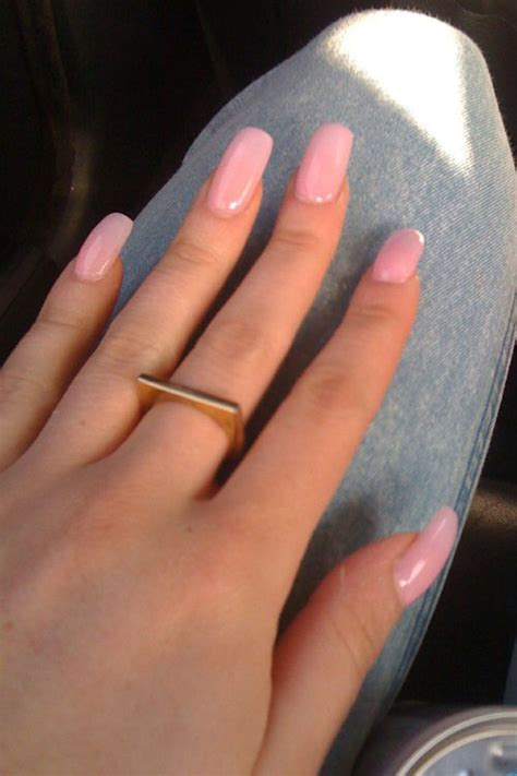 DEV Light Pink Nails | Steal Her Style