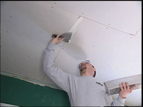 How to Replace Ceiling Tiles with Drywall | how-tos | DIY