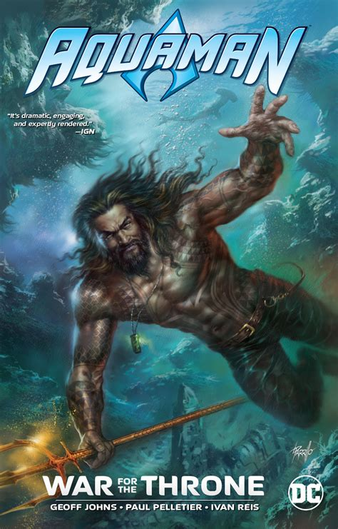 AUG180587 - AQUAMAN WAR FOR THE THRONE TP NEW ED