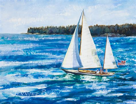 Boats Watercolor Paintings Gallery