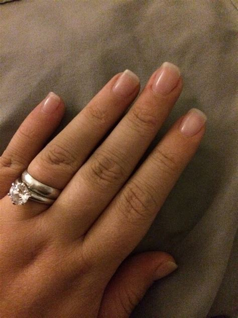 Solar pw with clear gel nails - New Expression Nails