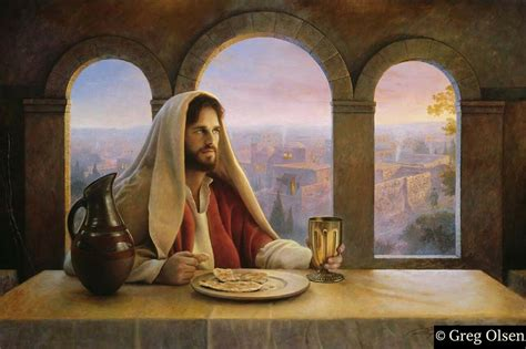 In Remembrance of Me by Greg Olsen S/N Print - Ashley's