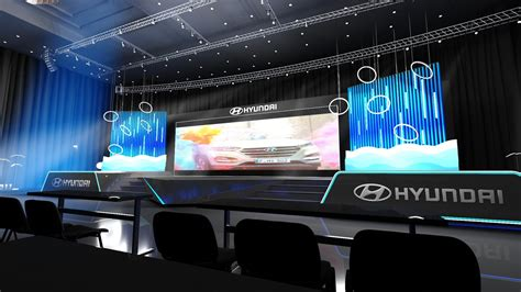 Hyundai Meeting Stage by Can TUNCEL at Coroflot