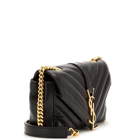 Lyst - Saint Laurent Classic Monogramme Quilted-Leather