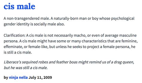 Urban Dictionary: Cis Male | White Cis Male | Know Your Meme