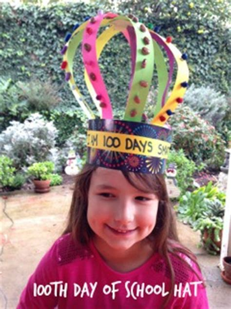 100th Day of School Hat   Teacher Created Tips