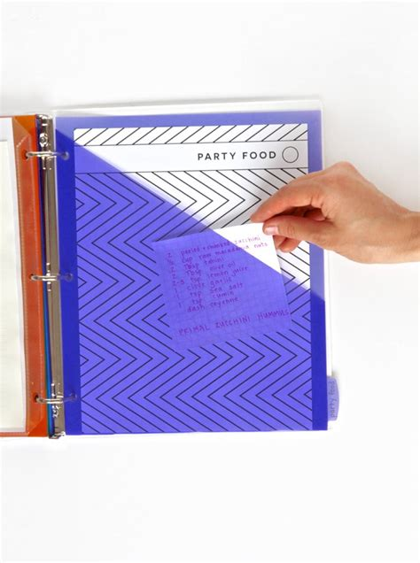 Printable Recipe Binder Kit - FREE from Paging Supermom