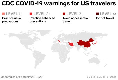 CDC Has Travel Advice For Places Hit by COVID-19