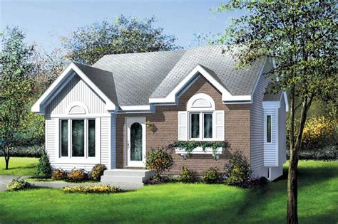 Small, Traditional, Bungalow House Plans - Home Design PI