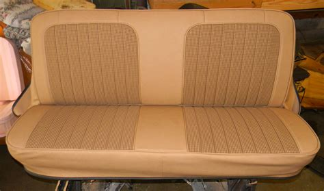 1972 Chevy Truck / Houndstooth / Bench Seat Covers / Rick