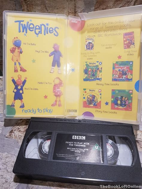 BBC Ready to Play with the Tweenies VHS Video Tape