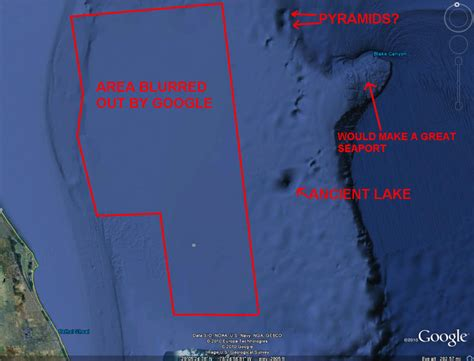 Underwater Structures in the Bermuda Trianglered band evil
