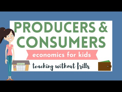 Producers, Consumers & Decomposers BUNDLE -Science by