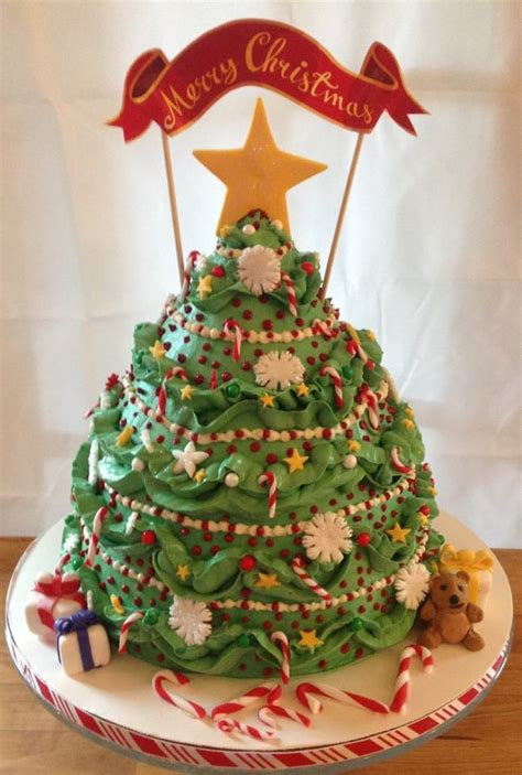 Christmas Tree - CakeCentral