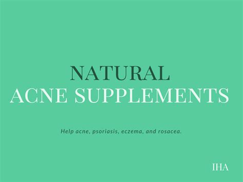 What are the Best Vitamin Supplements for Acne Prone Skin