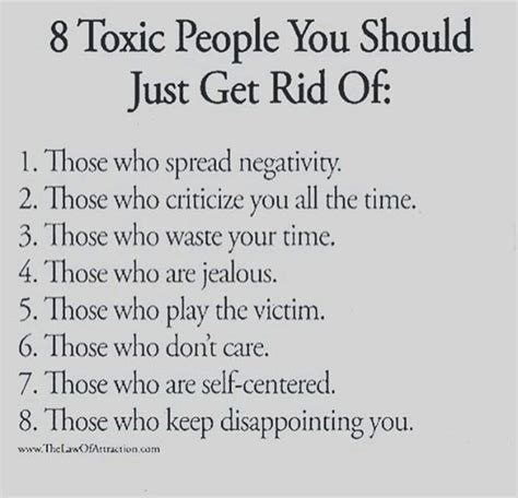8 Toxic People You Should Just Get Rid Of | Supportive
