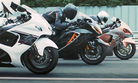 Upcoming 2021 Suzuki Hayabusa Revealed In A Leaked Video