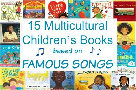 Multicultural Children's Books based on famous songs