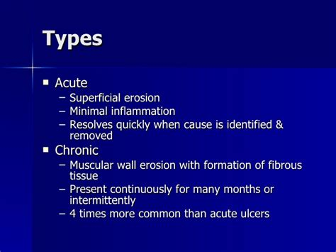 Peptic Ulcer Disease Ppt April 2005