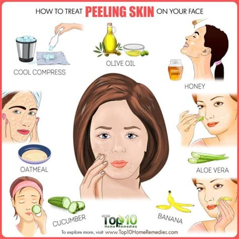 How to Treat Peeling Skin on Face   Top 10 Home Remedies