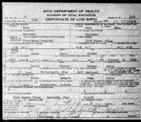 Blank+Birth+Certificate+Ohio   Related Pictures birth