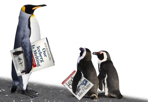 Book Brings Penguins Into Boardrooms - The New York Times
