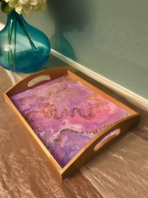 SOLD OUT-Resin Serving Tray Workshop Sunday March 15th 11