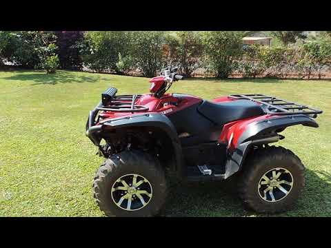Full REVIEW: 2019 Yamaha Grizzly 700 SE - YouTube