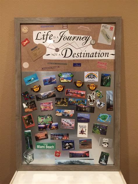My DIY magnet board I made to display my magnet collection