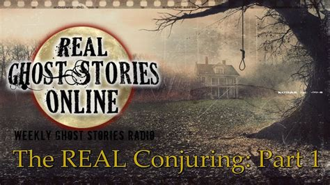 Real Ghost Stories: The Conjuring True Story Part 1 - YouTube