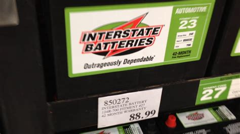 Interstate Battery Prices at Costco August 2017 Northern