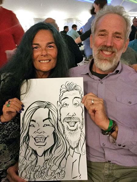 The Best Caricaturist For Hire In Stevens Point, Wisconsin