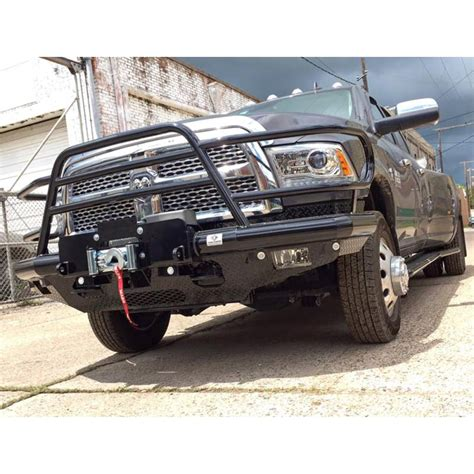 Tough Country DFR0024DLFSMW Deluxe Winch Front Bumper for