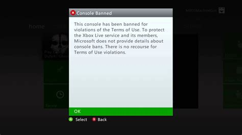 My Xbox 360 gets Console banned after playing Call of Duty