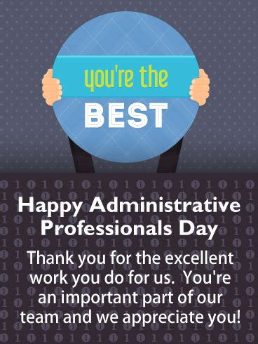 Administrative Professionals Day Cards 2021, Happy