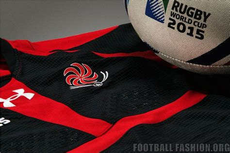 Georgia 2015 Rugby World Cup Under Armour Home and Away